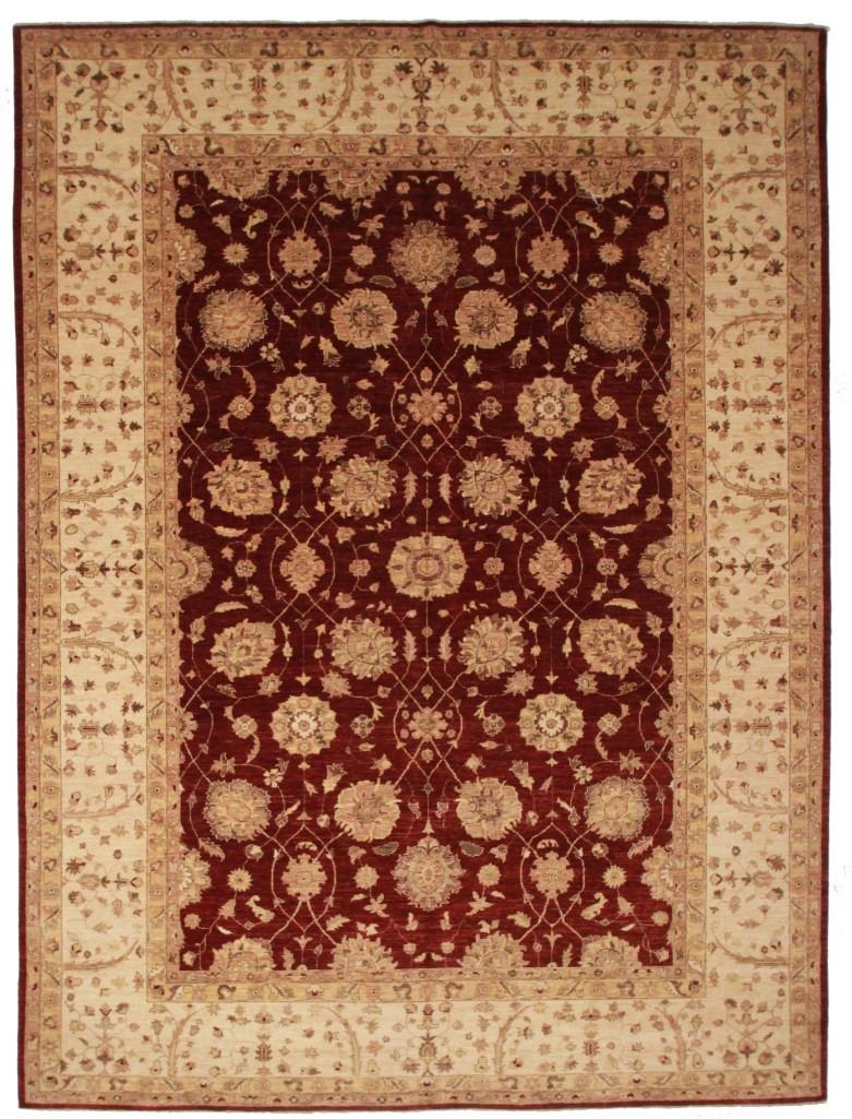 10 x 14 Peshawar Rug 13855 Wool Carpet