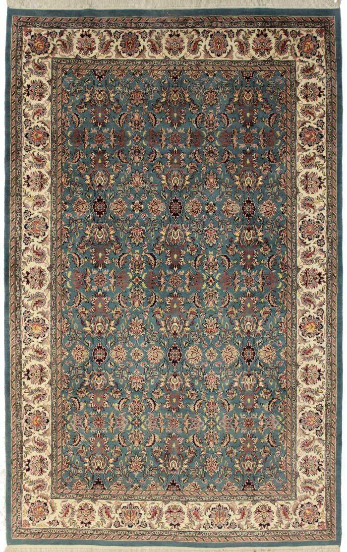 6 X 10 Pakistan Wool Rug 3633 Hand Knotted Wool