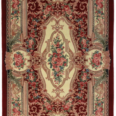 6 x 9 Aubusson Design Chinese Rug 10209