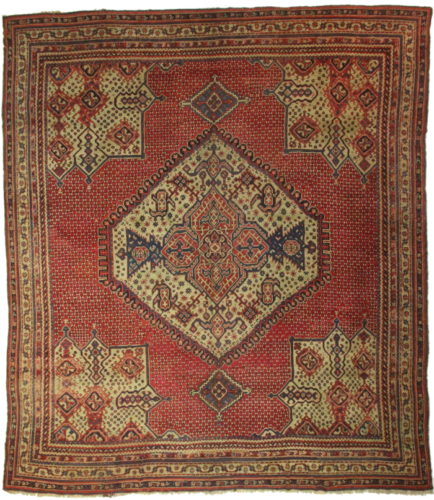 What Makes Turkish Rugs Great How You Can Read The Design Of A Turkish Rug: Antique Turkish Oushak