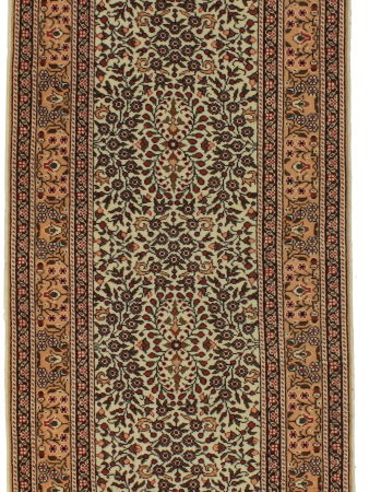 Persian Tabriz 3 x 10 runner 14383