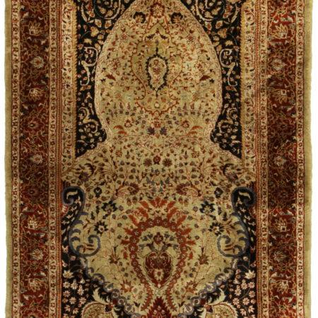 Turkish Silk 3 x 5 Area Rug 14379