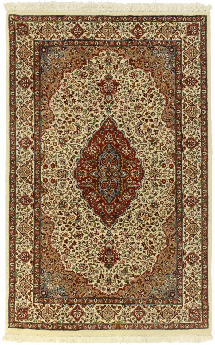 Vintage Pakistani 4 X 6 Wool Area Rug 14382