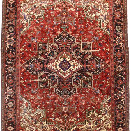 10 x 13 Persian Heriz Rug 14335