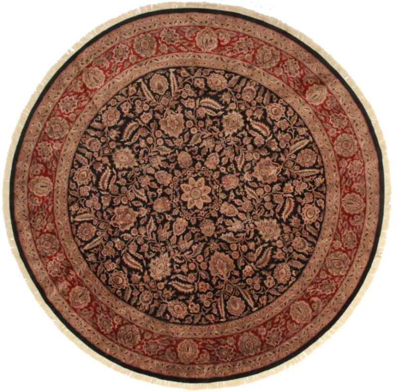 12 Feet Round Persian Design Rug 13595