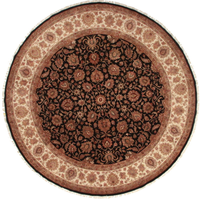 12 Feet Round Persian Design Rug 13647