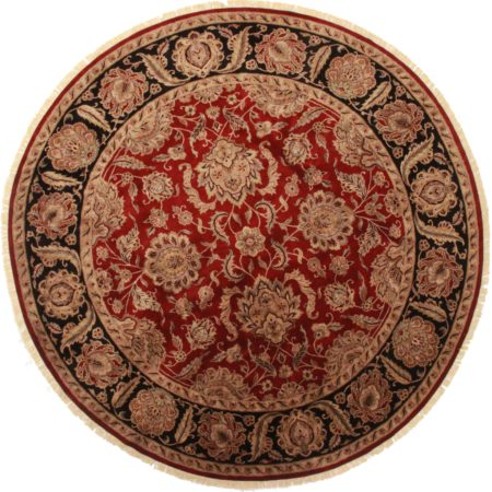 12 Feet Round Persian Design Rug 13746