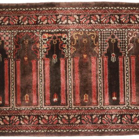 3 x 5 Silk Vintage Chinese Rug 14193