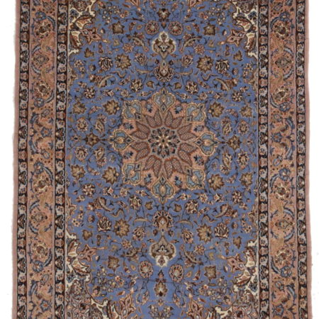 3 x 5 Silk Wool Persian Isfahan Rug 10644