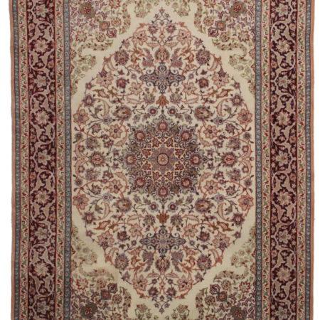 5 x 7 Silk Persian Isfahan Rug 14155
