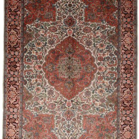 7 x 10 Kashmir Silk Rug 9087