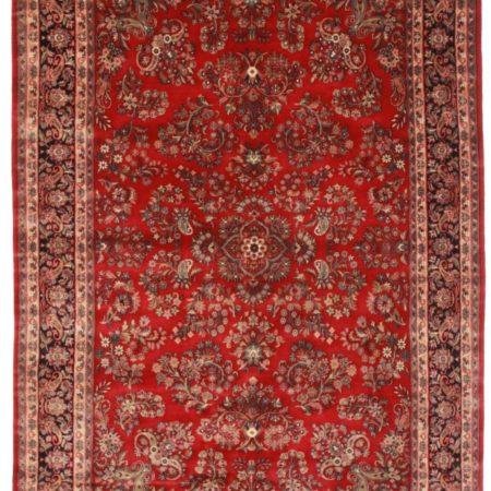 7 x 10 Persian Sarouk Style Rug 12191