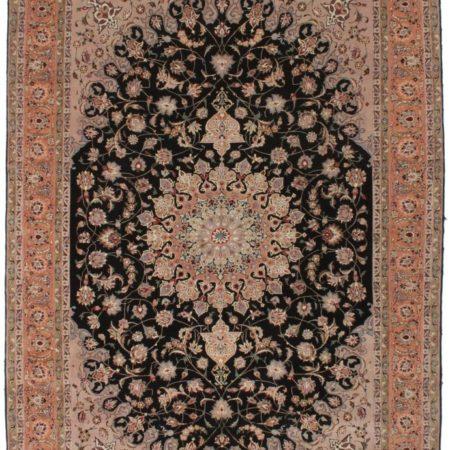 7 x 10 Silk Wool Fine Persian Tabriz Rug 7408