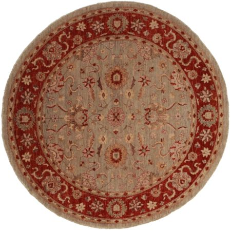 8 Feet Round Persian Design Rug 14030
