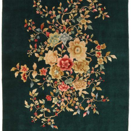 8 x 10 Vintage Art Deco Chinese Rug 14375