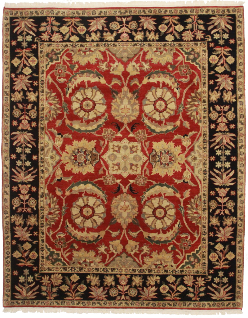 8 X 10 Wool Persian Design Rug 13167