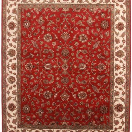 8 x 10 Wool Persian Tabriz Style Rug 13712