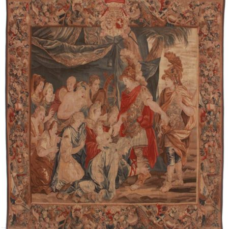 8 x 9 Vintage French Style Tapestry 14280