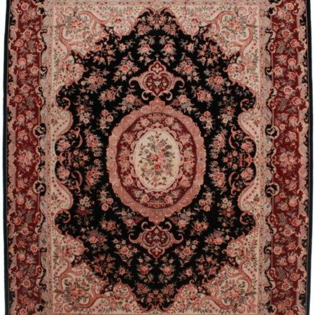 9 x 11 Silk Wool Tabriz Style Rug 14222