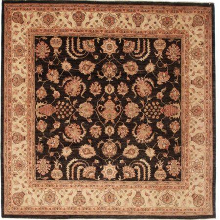 Oushak Style Square Quality Peshawar Rug 13885