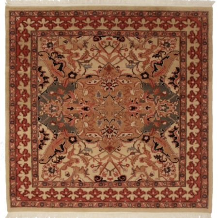 Square Agra Style Rug 11191