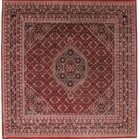 Square Persian Bidjar Style Rug 11061