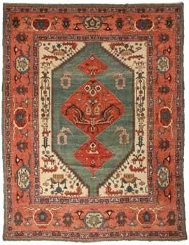 13 x 15 Persian Karajeh Rug 10640