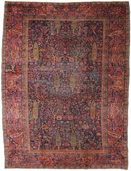 9 x 17 Antique Indian Rug - $9,500
