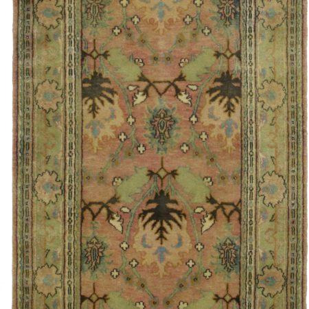 4 x 12 Vintage Persian Style Wool Runner 9992