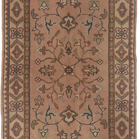 4 x 6 Antique Turkish Oushak Rug 14307