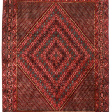 5 x 7 Persian Afshar Wool Rug 14326