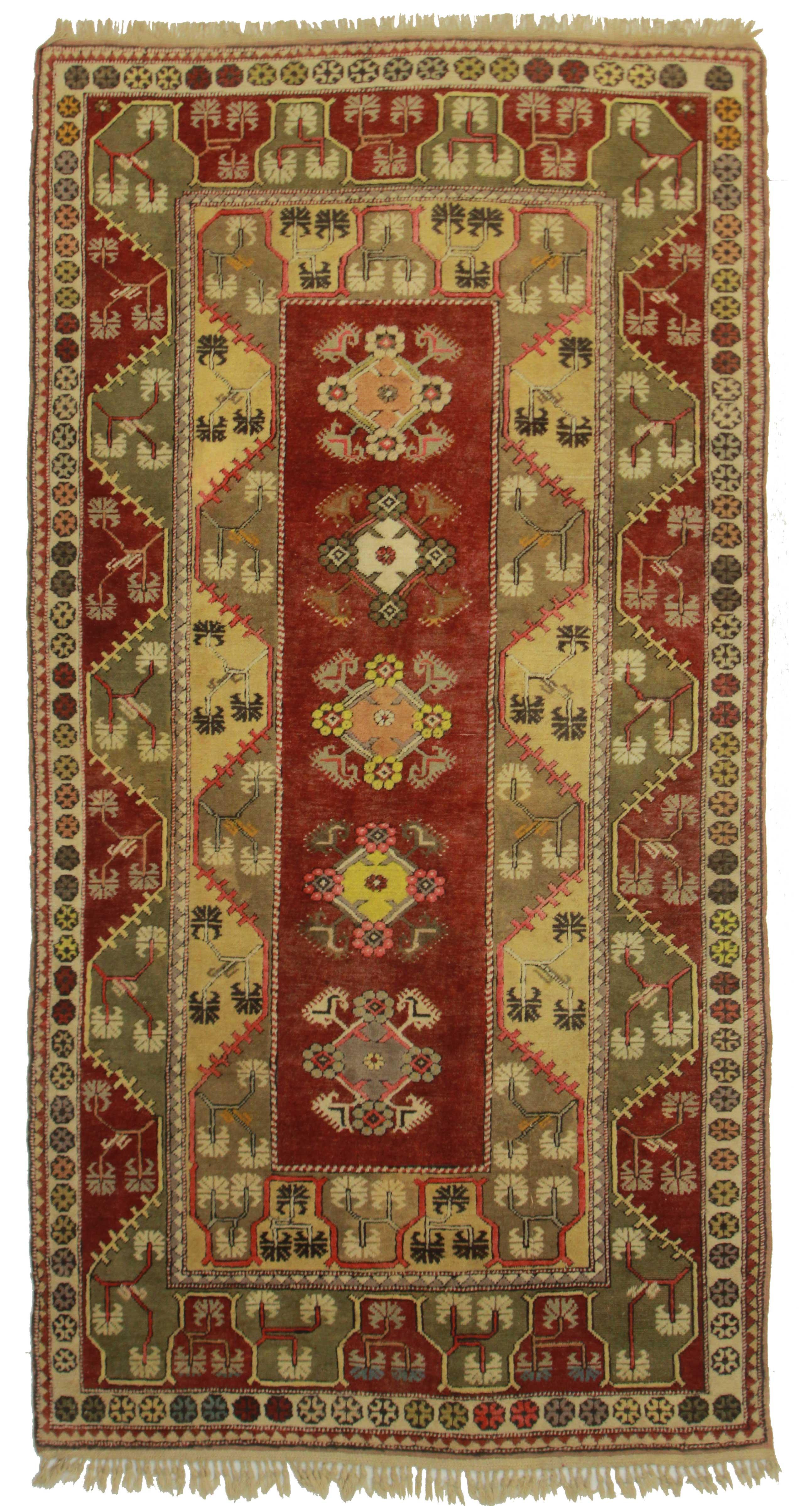 5 X 9 Vintage Turkish Wool Rug 14366 Exclusive Oriental Rugs