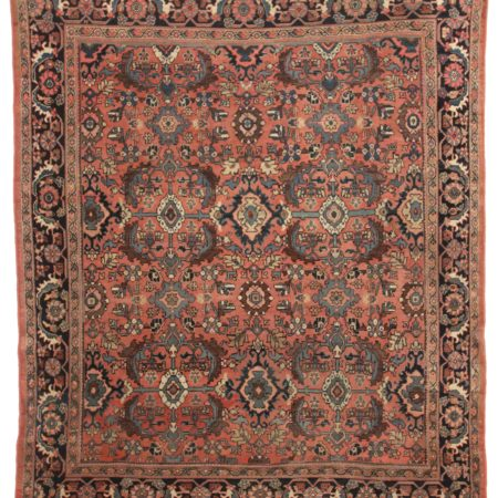 8 x 10 Antique Persian Mahal Wool Rug 12109