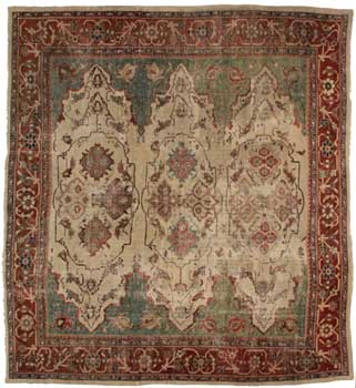 12 x 14 Antique Persian Sultanabad