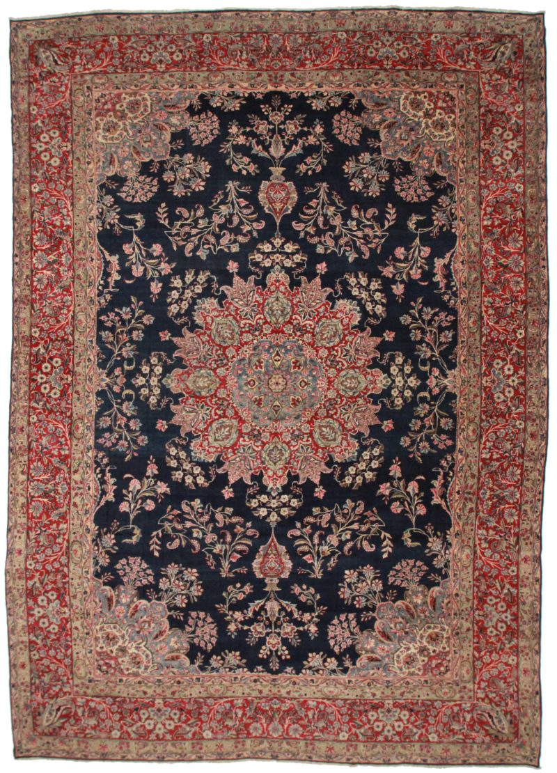 Antique Persian Kerman Rug 14107