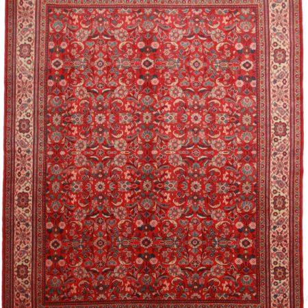 10 x 13 Vintage Persian Mahal Rug 10176