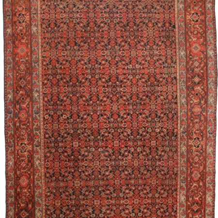 10 x 14 Antique Persian Mahal Rug 9510