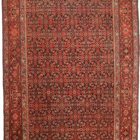 10 x 14 Antique Persian Mahal Rug 9510