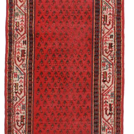3 x 15 Antique Persian Hamadan Runner 10560