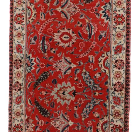 3 x 19 Antique Persian Tabriz Runner 12095