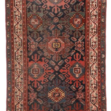 3 x 20 Antique Persian Malayer Runner 14268