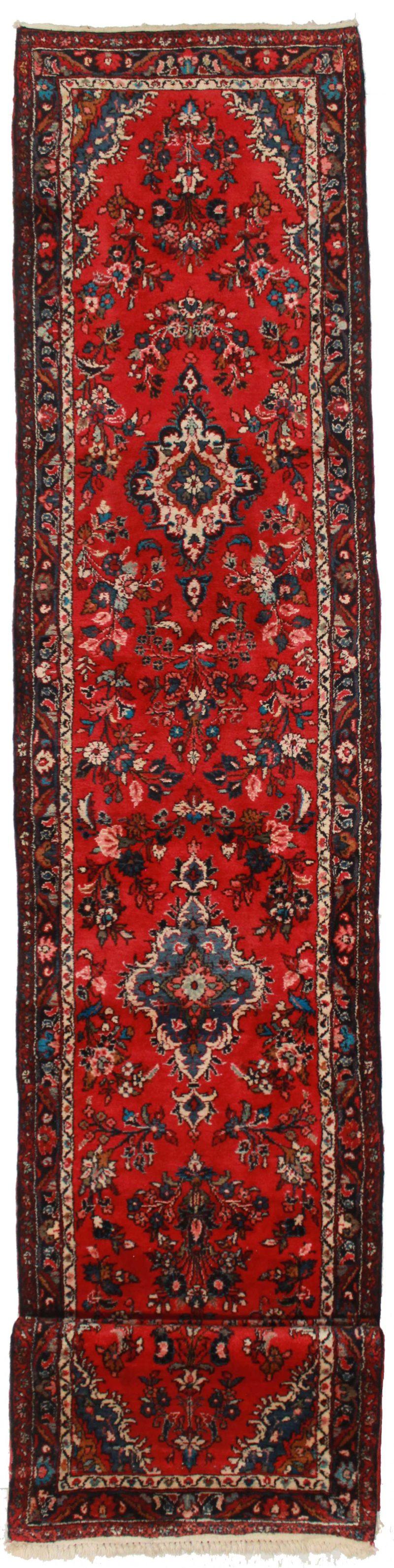3 x 25 Vintage Persian Hamadan Runner 14200