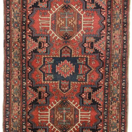 3 x 5 Antique Persian Karajeh Rug 13838