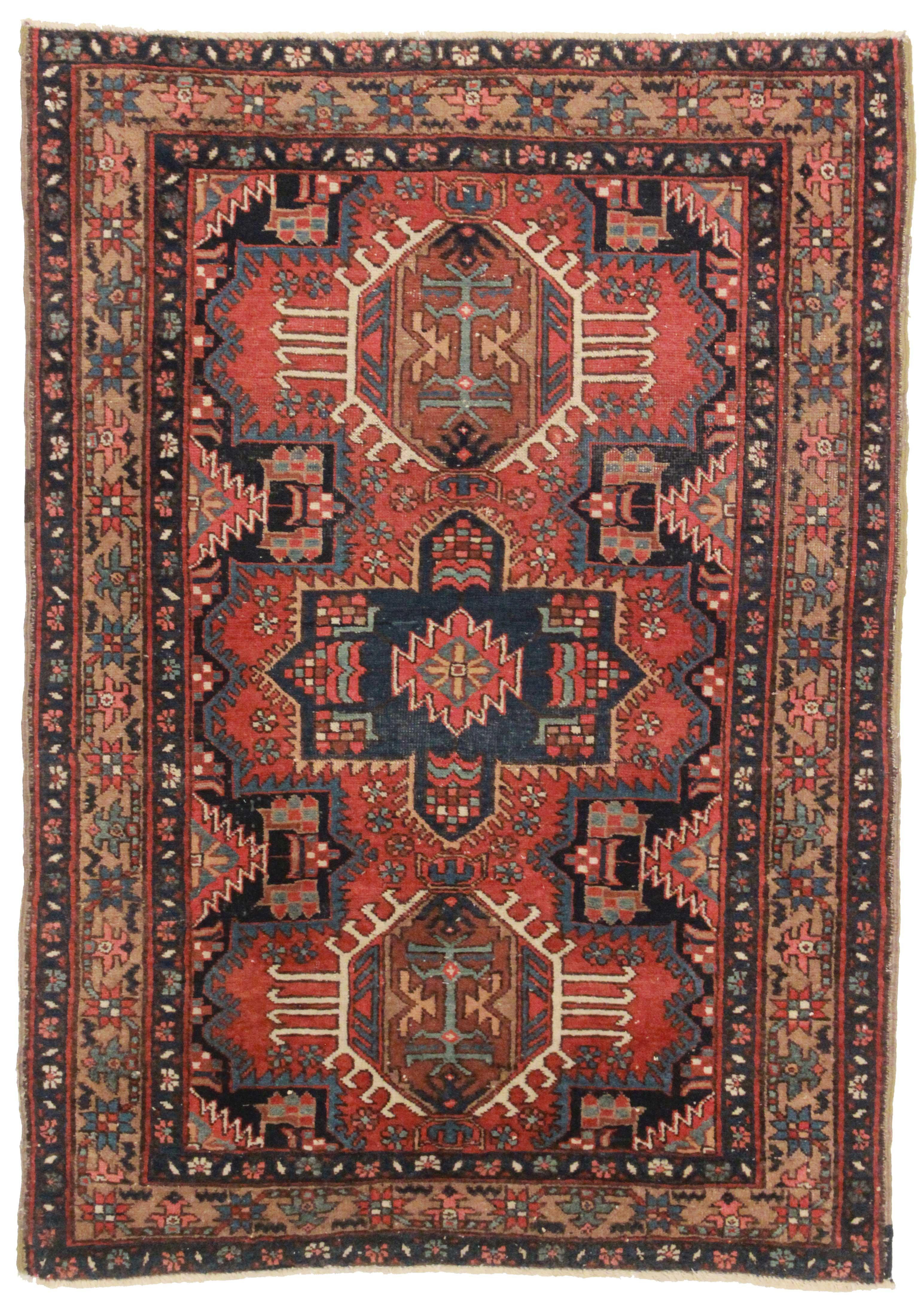 3 X 5 Antique Persian Karajeh Rug 13838 Exclusive Oriental Rugs