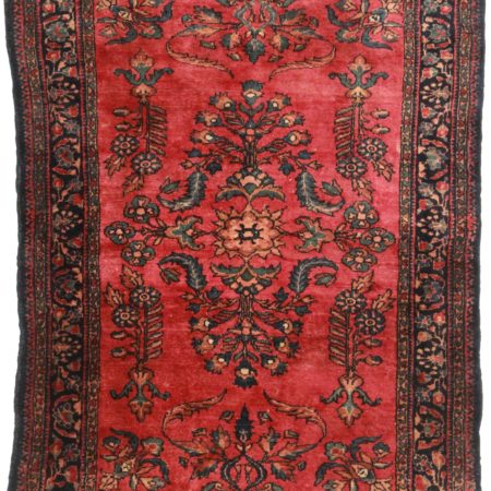 3 x 5 Antique Persian Lilihan Rug 14168