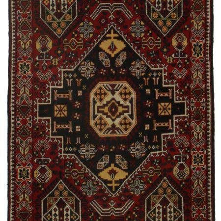 3 x 6 Vintage Afghan Rug 9813