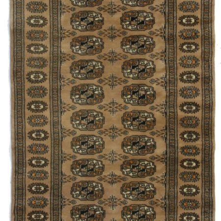 3 x 8 Vintage Bokhara Pakistani Rug 10821