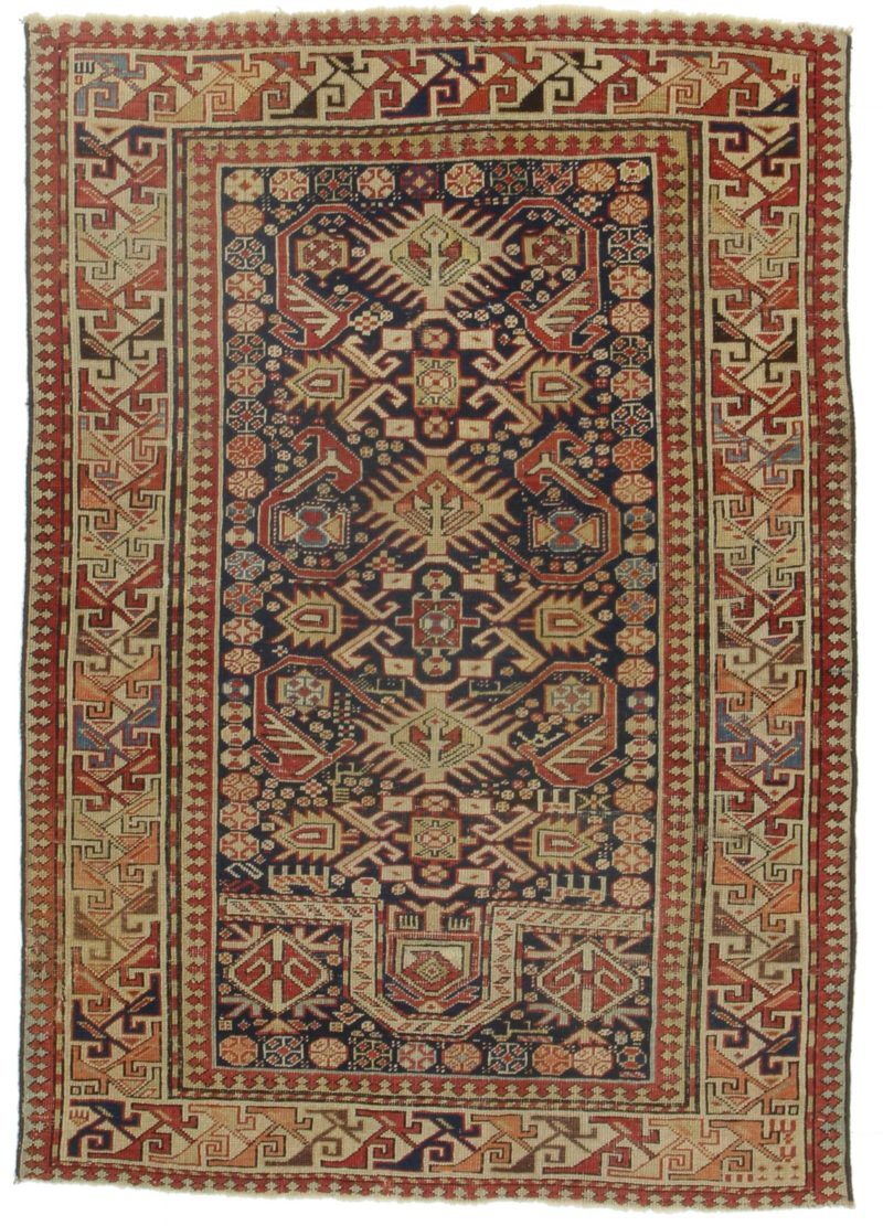 3 x 9 Antique Russian Rug 14350