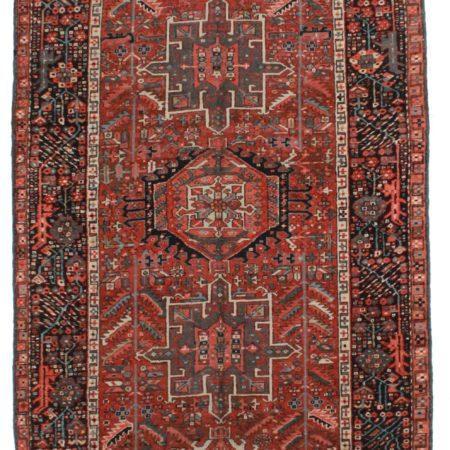 4 x 12 Vintage Persian Heriz Runner 11218