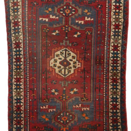4 x 6 Antique Persian Hamedan Rug 9841